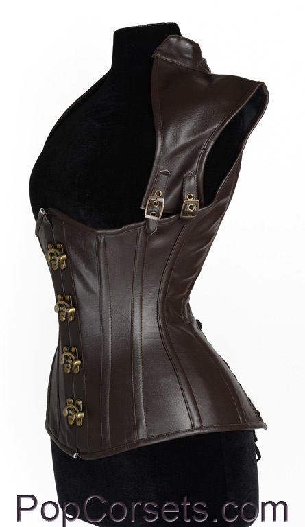 Apocalyptic Brown Corset