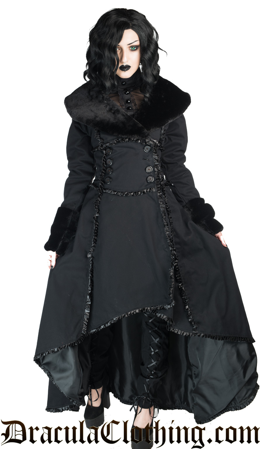 Cotton Evil Queen Coat