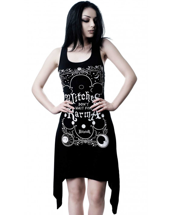 Killstar Karma Lace-Up Tunic