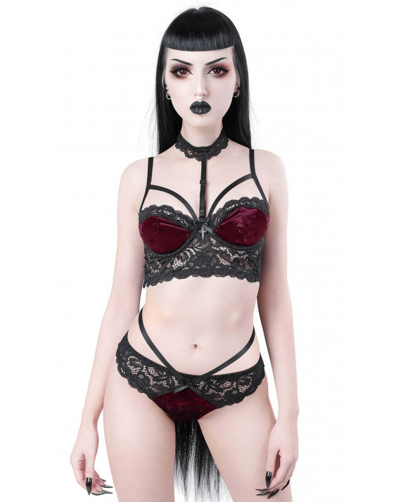 Killstar Ruby Boudoir Bra