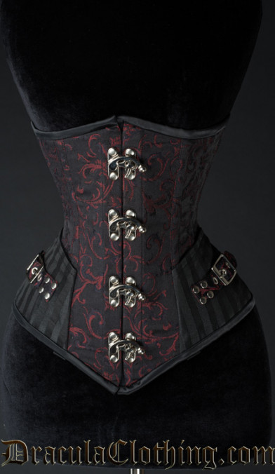 Ruby Assassin Clasp Corset