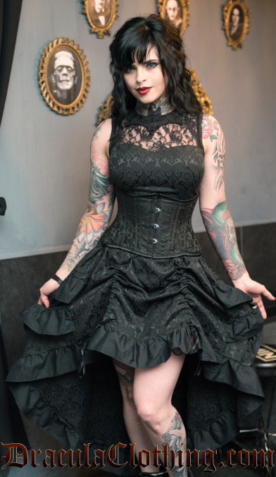 Bat Bustle Dress