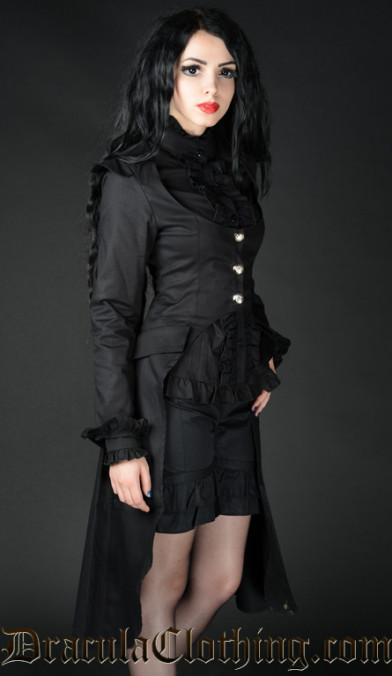 Black EGA Coat