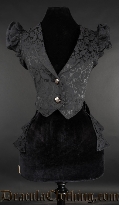 Brocade Tailcoat Vest
