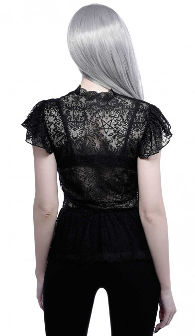 Killstar Cassandra Lace Top