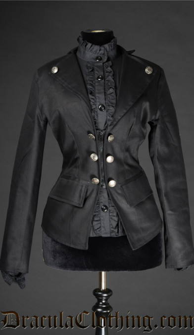 Corporate Gothic Zipper Jacket