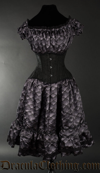 Dragon Scale Gothabilly Dress