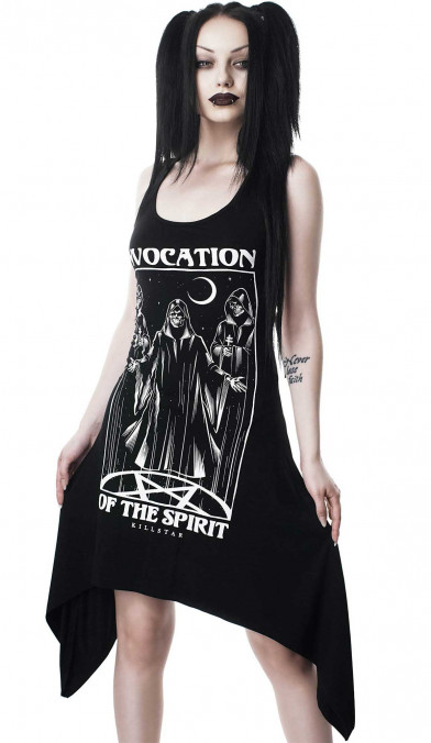 Killstar Invocation Lace-Up Tunic