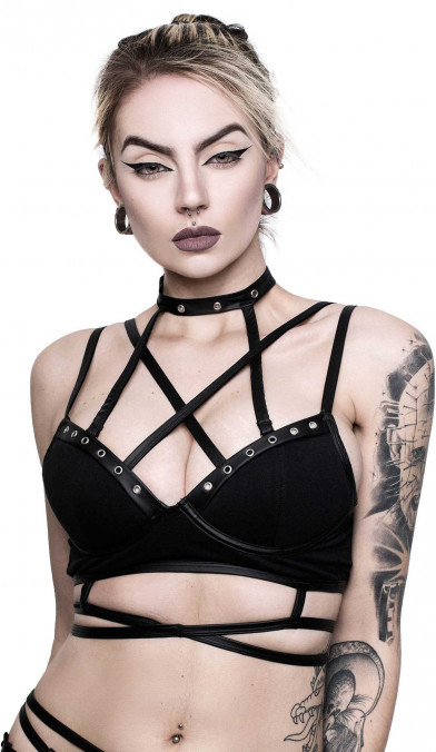 Killstar Metal Maiden Bra