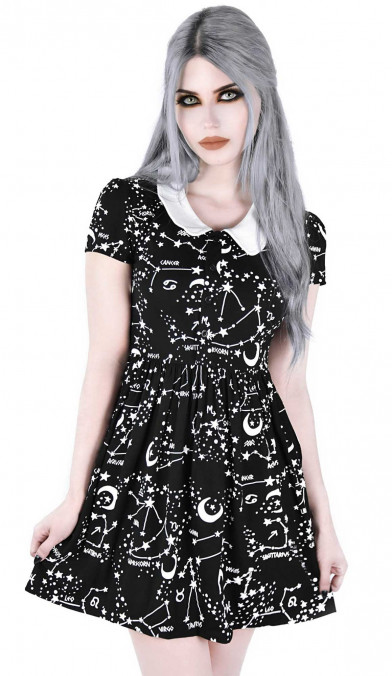 Killstar Milky Way Babydoll Dress
