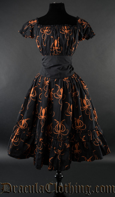Octopus Gothabilly Dress