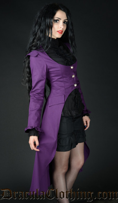 Purple EGA Coat