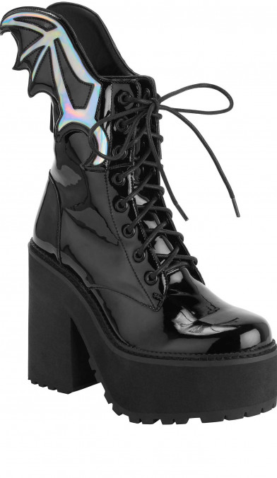 Killstar Rave To The Grave Boots