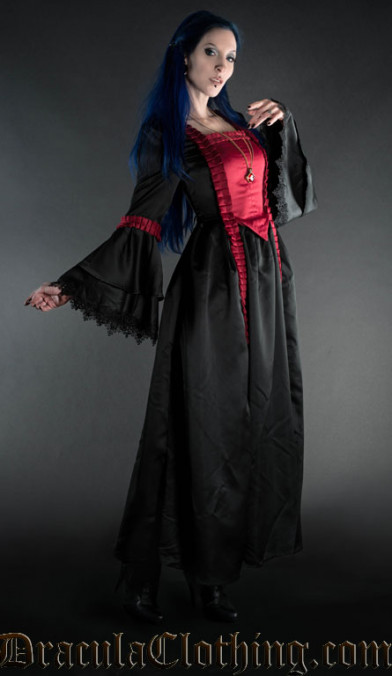 Red Baroque Dress