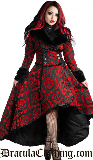 Red Evil Queen Coat