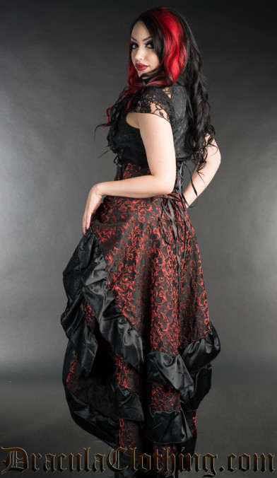 Ruby Layer Bustle Skirt