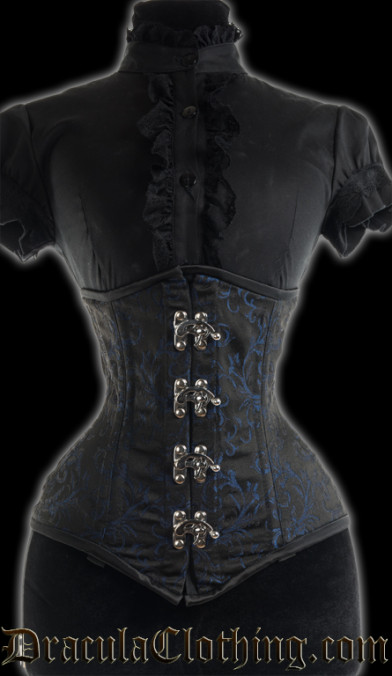 Sapphire Extreme Waist Clasp Corset