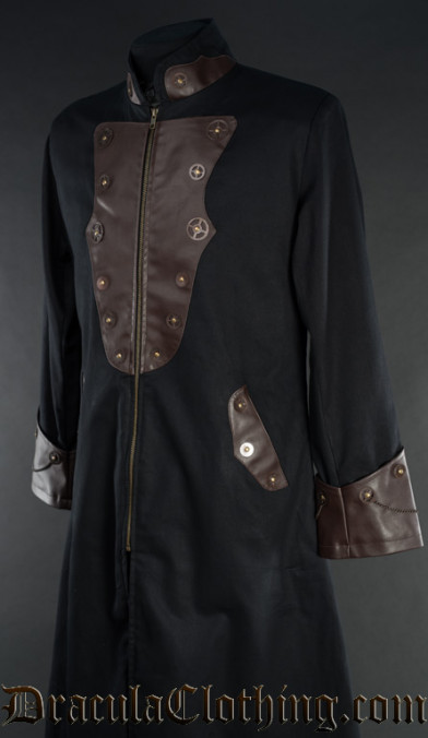 Steampunk Gentleman Cogwheel Coat