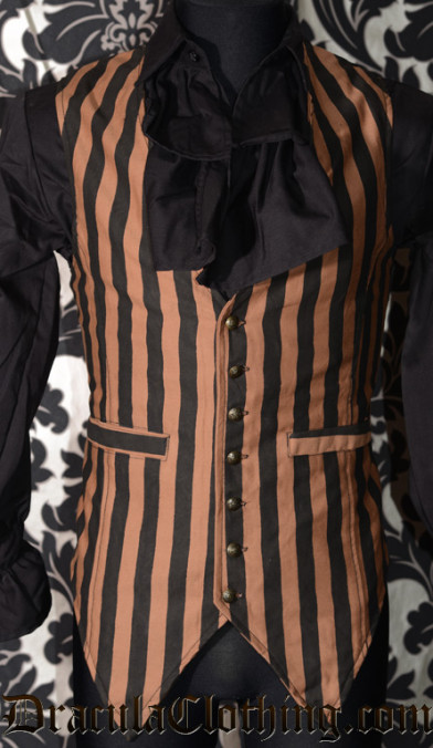 Steampunk Long Vest