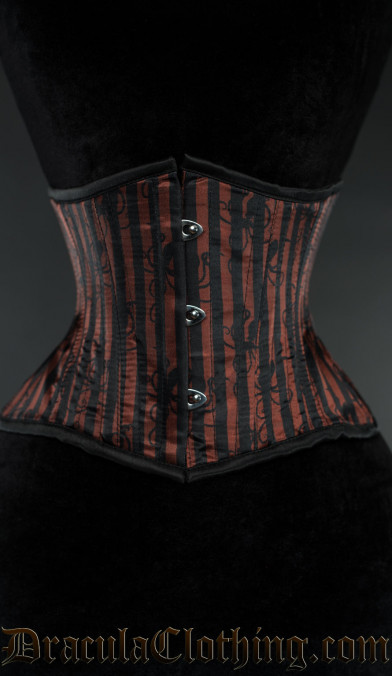 Striped Octopus Extreme Waist Cincher