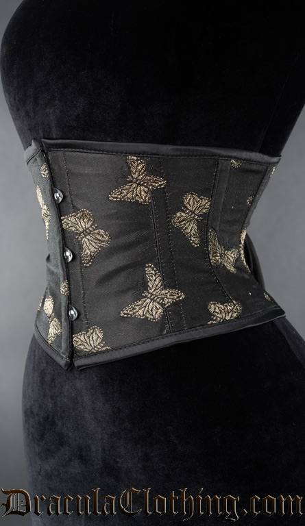 Gold Butterfly Waist Cincher