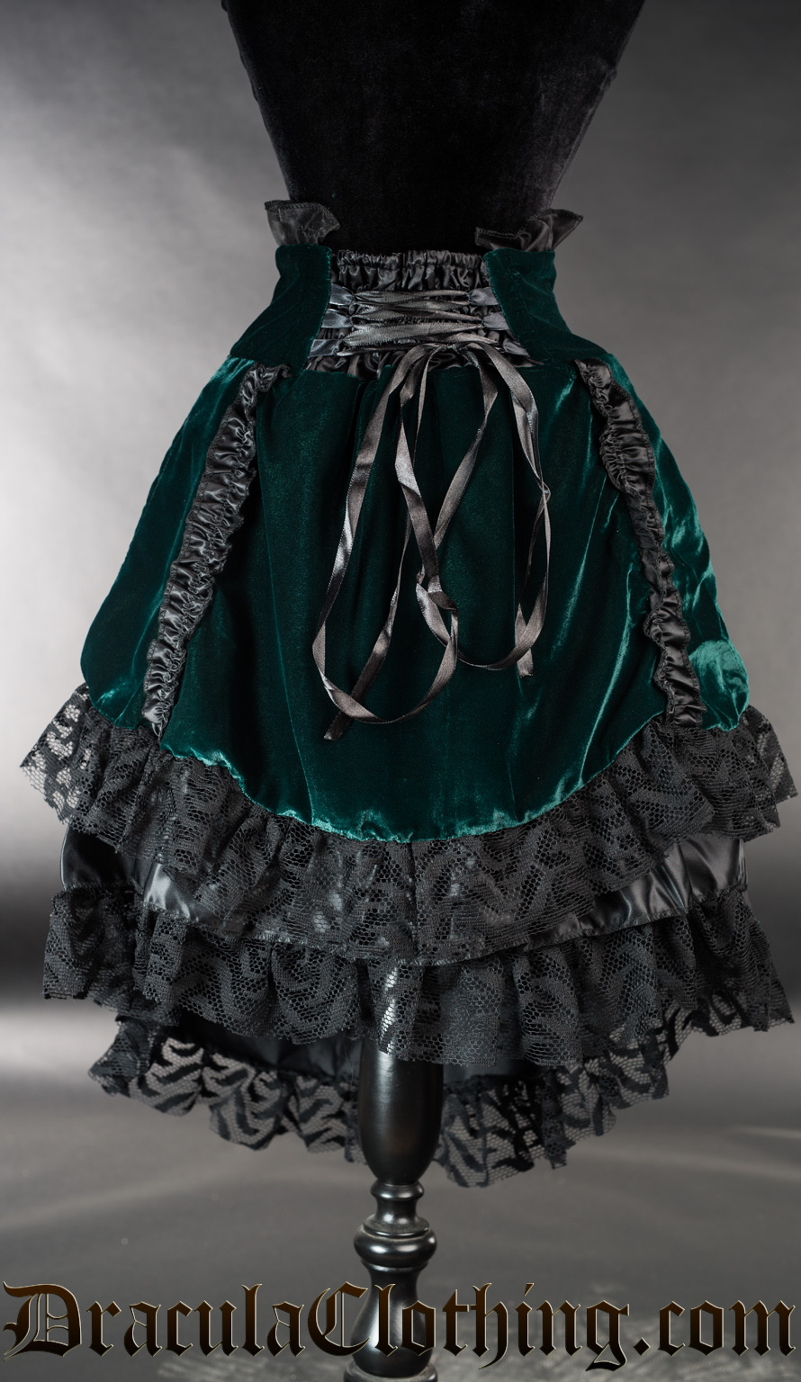 Green Velvet EGL Skirt