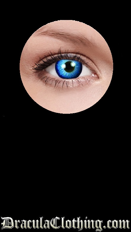 Space Blue 1 Year Contact Lenses