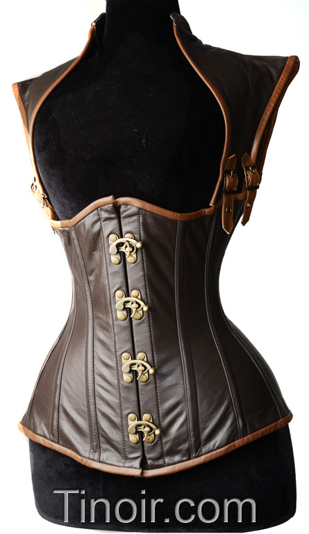 Steampunk Apocalyptic Clasp Corset