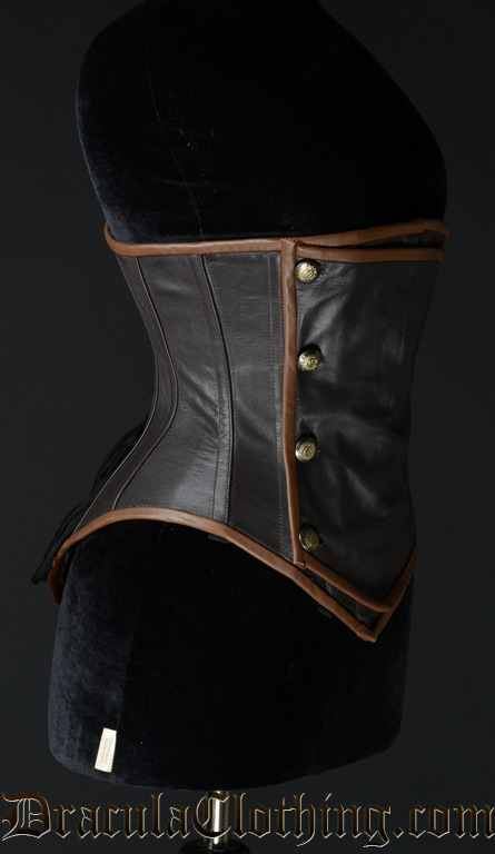 Leather Steampunk Officer