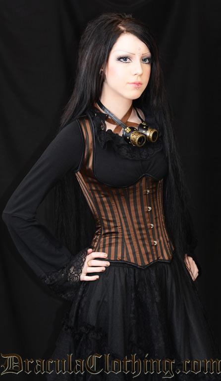 Steampunk Shoulder Corset